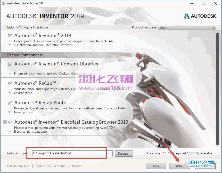 Inventor 2019软件安装教程步骤8